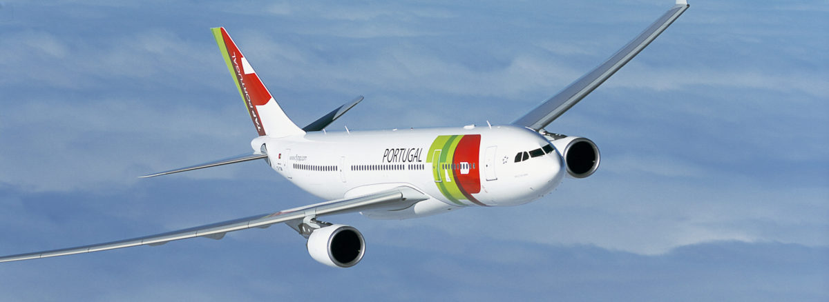 TAP airplane image